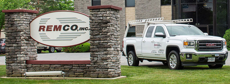 Remco, Inc. Sign and Truck